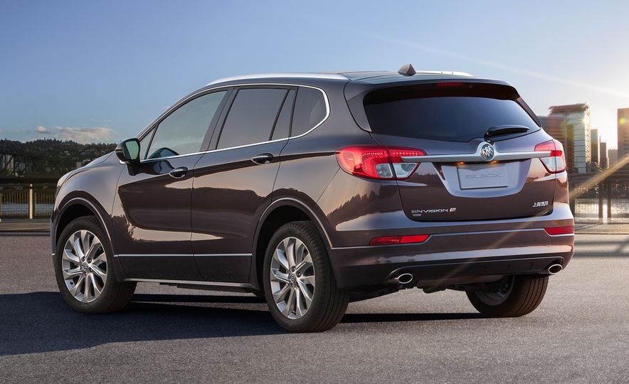 2015 Buick Envision (Chinese spec) - Slide 4