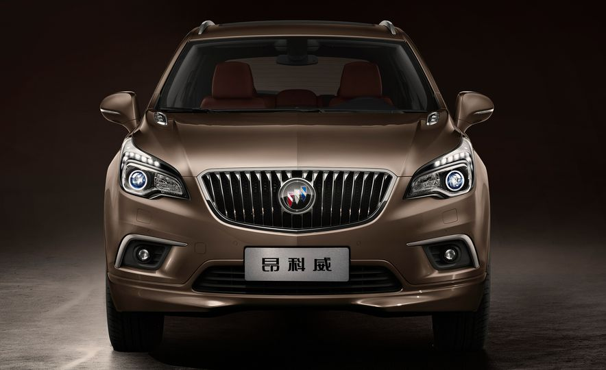 2015 Buick Envision (Chinese spec) - Slide 5