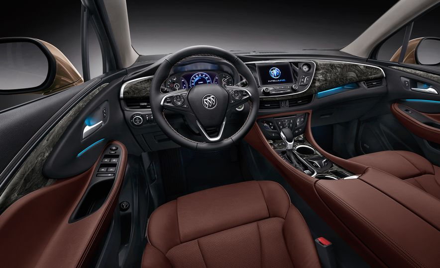 2015 Buick Envision (Chinese spec) - Slide 11