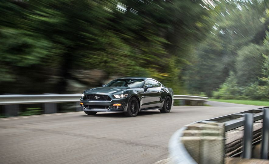 2016 Chevrolet Camaro SS and 2015 Ford Mustang GT - Slide 17