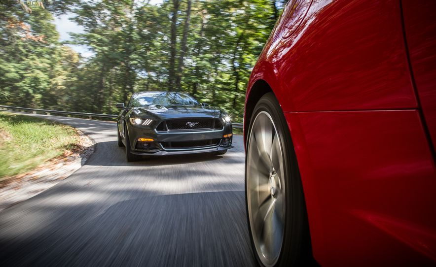 2016 Chevrolet Camaro SS and 2015 Ford Mustang GT - Slide 18