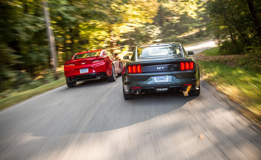 2016 Chevrolet Camaro SS and 2015 Ford Mustang GT - Slide 3