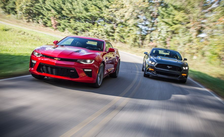 2016 Chevrolet Camaro SS and 2015 Ford Mustang GT - Slide 4