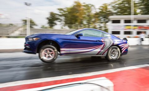 Cobra Jet La La La La La Ford Debuts New Cobra Jet Mustang Drag Car
