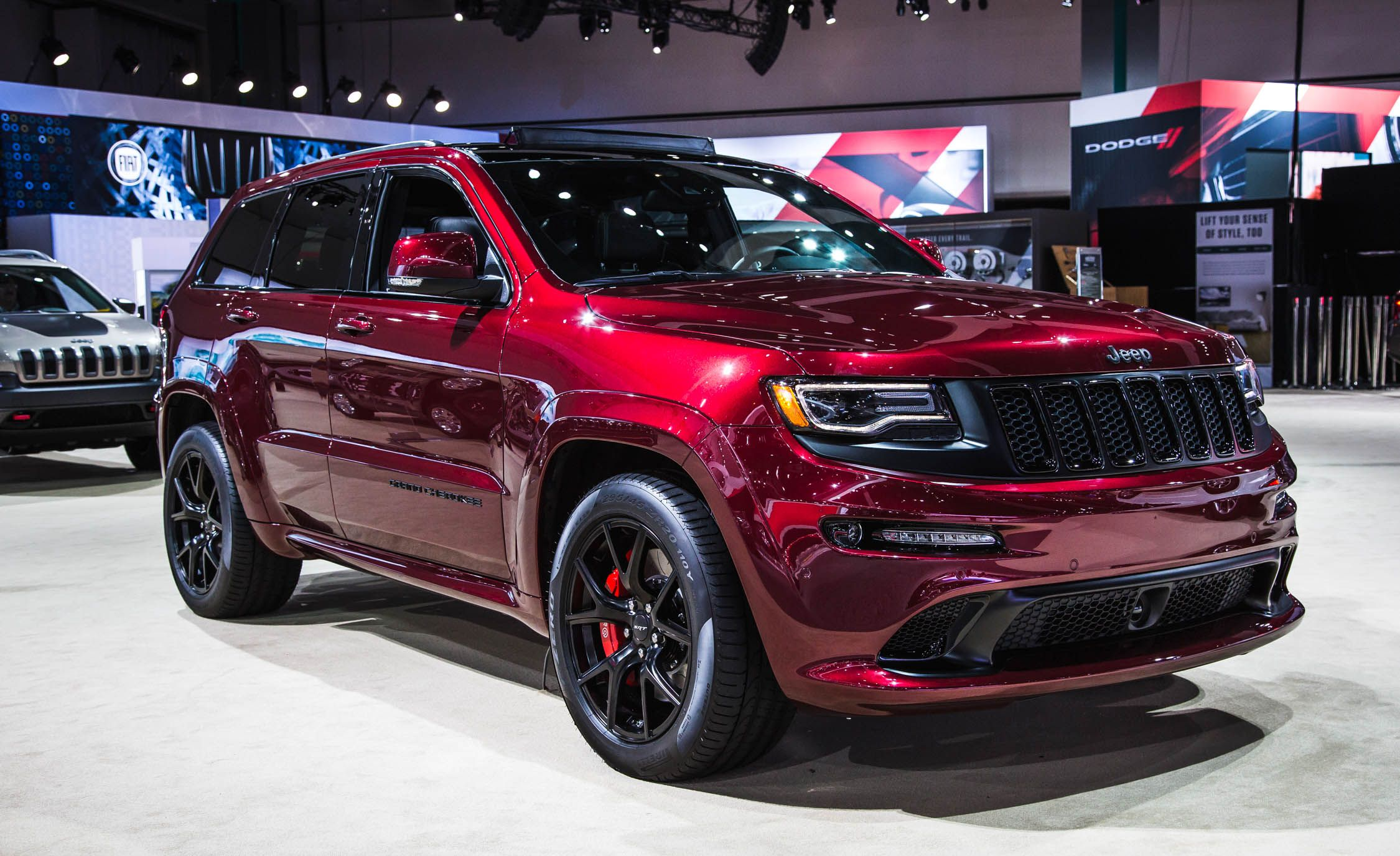 2016 jeep grand cherokee srt pictures | photo gallery | car and driver