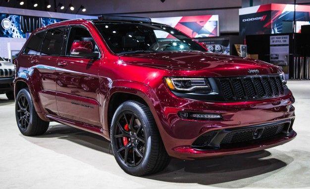 Red As Night: New 2016 Jeep Grand Cherokee SRT Night
