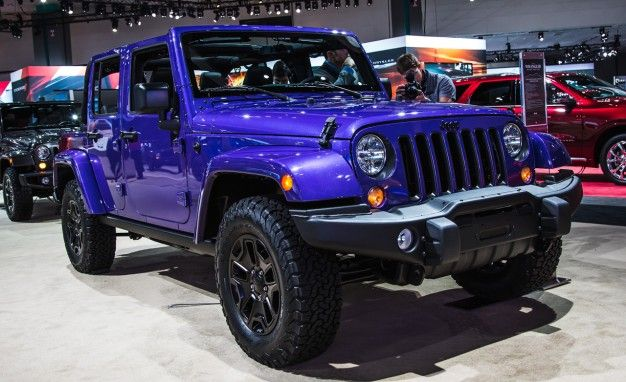 2016 Jeep Wrangler Backcountry Edition Photo Gallery
