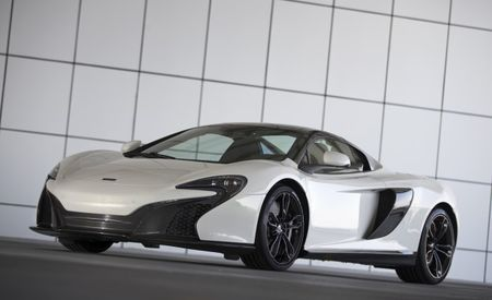 There's Gold in Them Thar Supercars: McLaren Unveils 650S Spider with 24K Paint