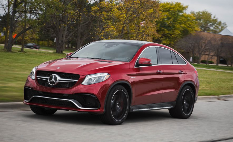 2016 Mercedes-AMG GLE63 S coupe 4MATIC - Slide 1