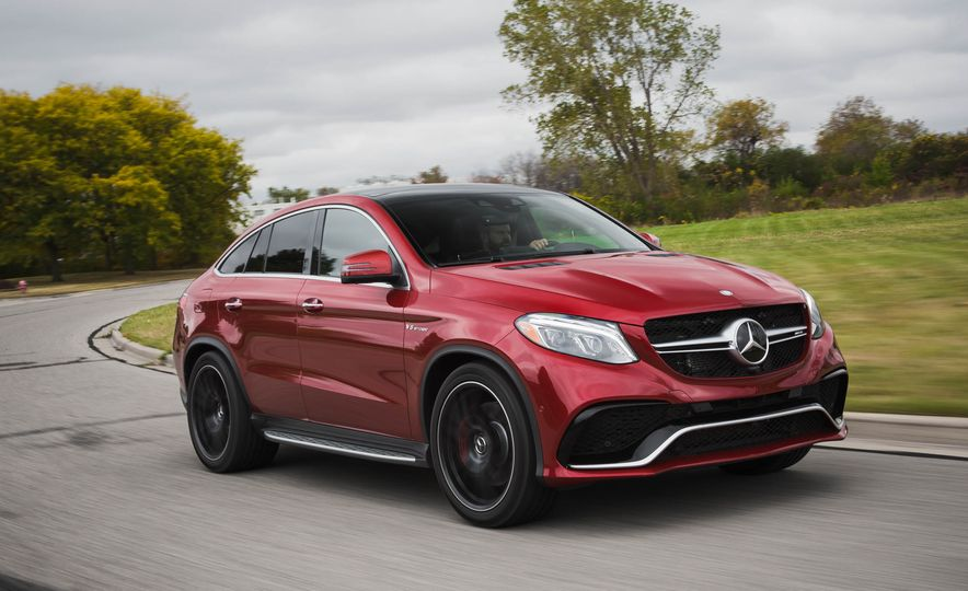 2016 Mercedes-AMG GLE63 S coupe 4MATIC - Slide 4