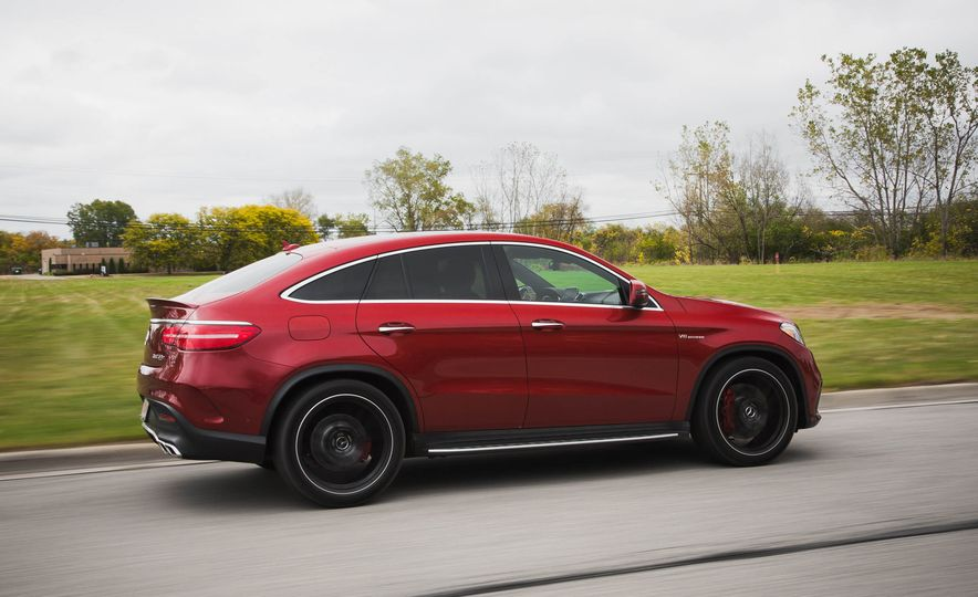 2016 Mercedes-AMG GLE63 S coupe 4MATIC - Slide 5