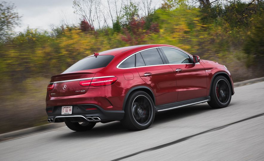 2016 Mercedes-AMG GLE63 S coupe 4MATIC - Slide 6