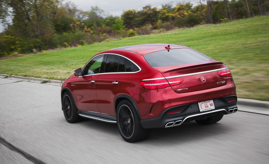 2016 Mercedes-AMG GLE63 S coupe 4MATIC - Slide 8