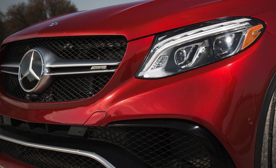 2016 Mercedes-AMG GLE63 S coupe 4MATIC - Slide 11