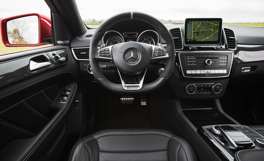 2016 Mercedes-AMG GLE63 S coupe 4MATIC - Slide 27