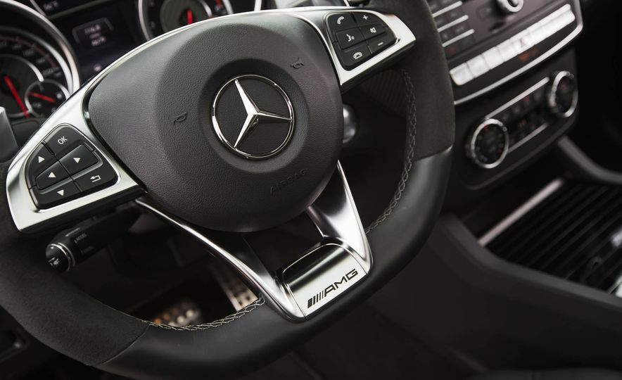 2016 Mercedes-AMG GLE63 S coupe 4MATIC - Slide 30