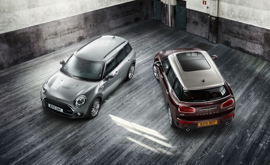 2016 Mini Clubman D (Euro-spec) and Clubman S - Slide 1