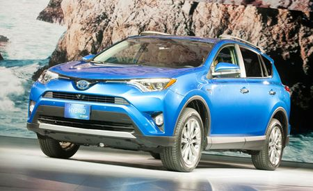 It's Gone Places: Updated 2016 Toyota RAV4 and New RAV4 Hybrid Priced