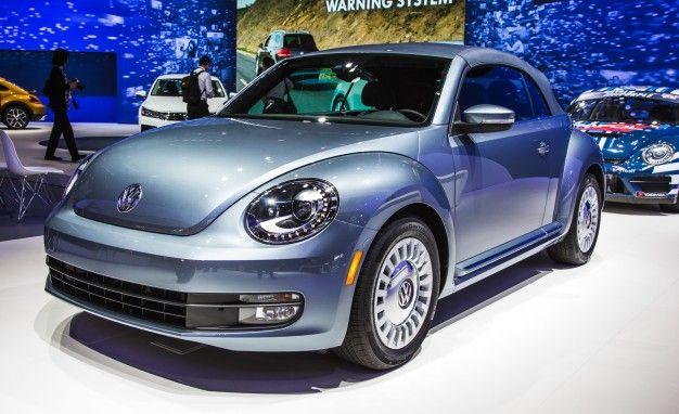 Jean Genie: Volkswagen Introduces Beetle Convertible Denim