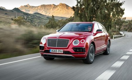 "Because 600 HP Is Not Enough: Bentley Bentayga ""Speed"" All But Assured"