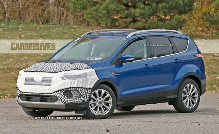 2017 Ford Escape Spy Photos: A Thorough Refresh Has It Getting Edge-ier