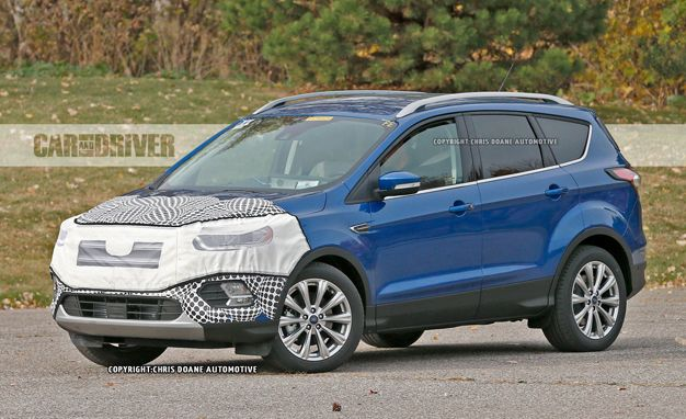 ford escape reviews ford escape price photos and specs car and driver. Black Bedroom Furniture Sets. Home Design Ideas