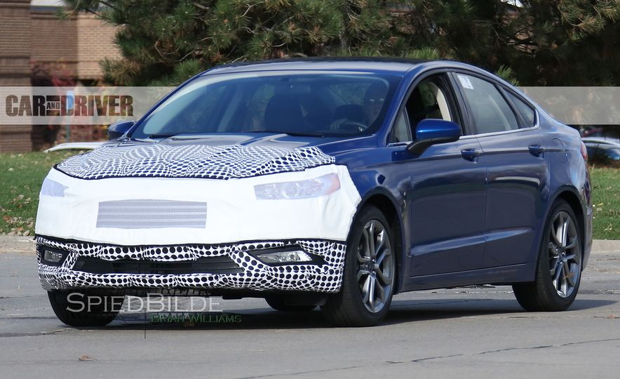 2017 Ford Fusion (spy photo) - Slide 2