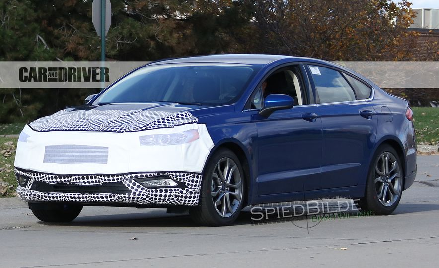 2017 Ford Fusion (spy photo) - Slide 3