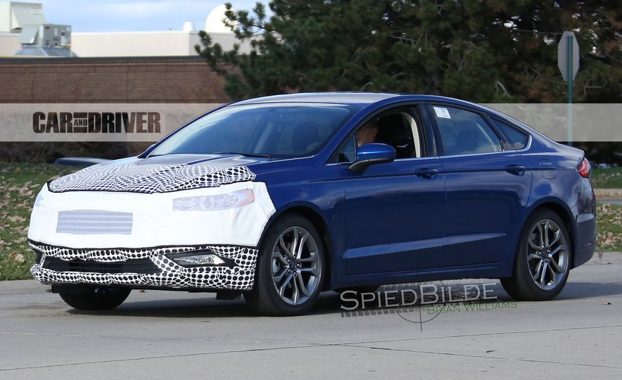 2017 Ford Fusion (spy photo) - Slide 4