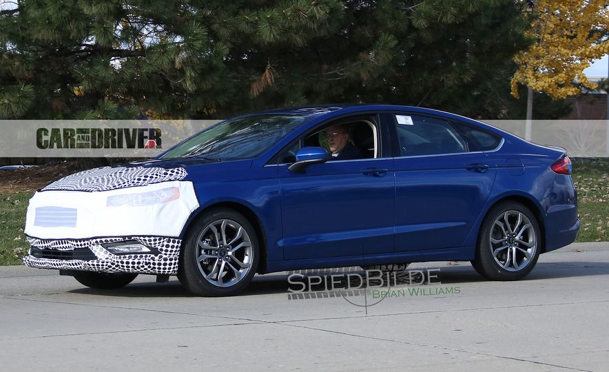 2017 Ford Fusion (spy photo) - Slide 5