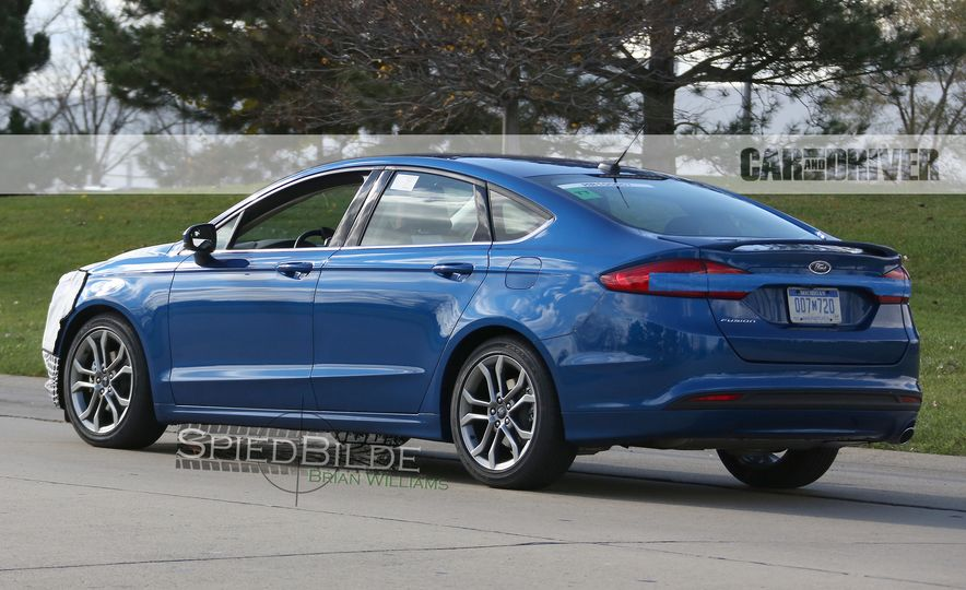 2017 Ford Fusion (spy photo) - Slide 7