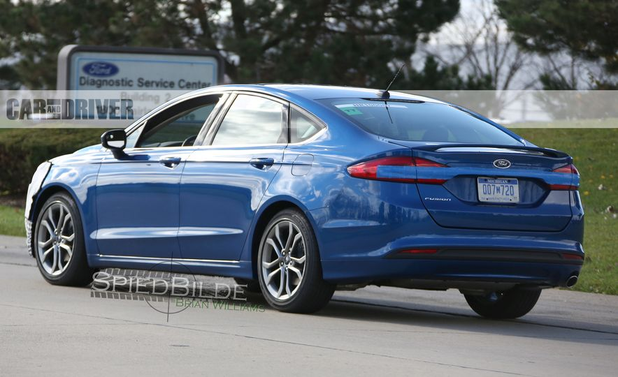 2017 Ford Fusion (spy photo) - Slide 8