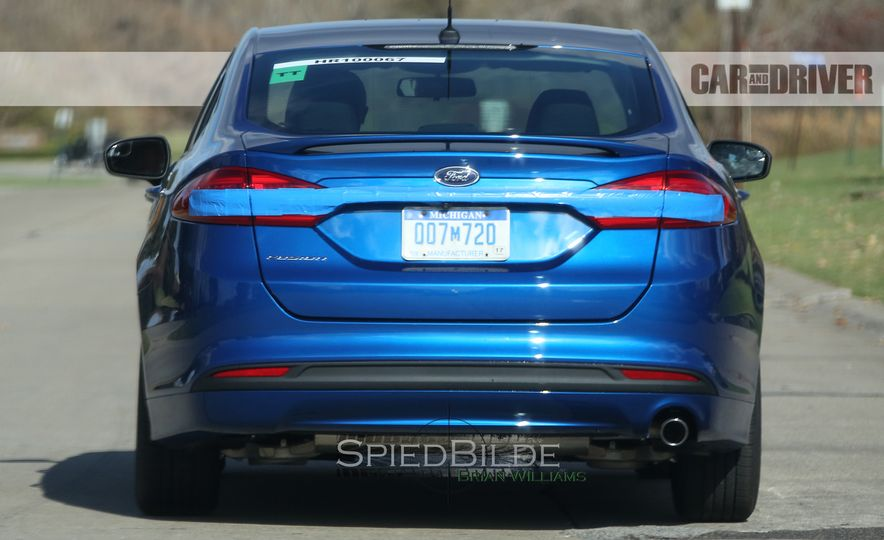 2017 Ford Fusion (spy photo) - Slide 9
