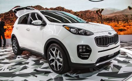 U.S.-Spec 2017 Kia Sportage Trim Levels, Engines Detailed