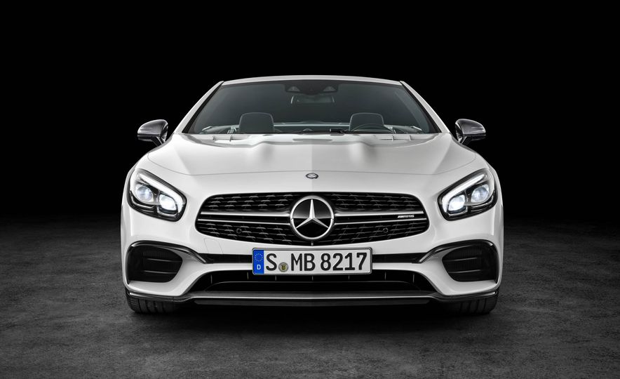 2017 Mercedes-Benz SL 550 - Slide 29