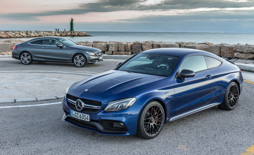 2017 Mercedes-AMG C63 coupe and Mercedes-Benz C300 - Slide 2