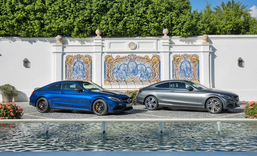 2017 Mercedes-AMG C63 coupe and Mercedes-Benz C300 - Slide 3