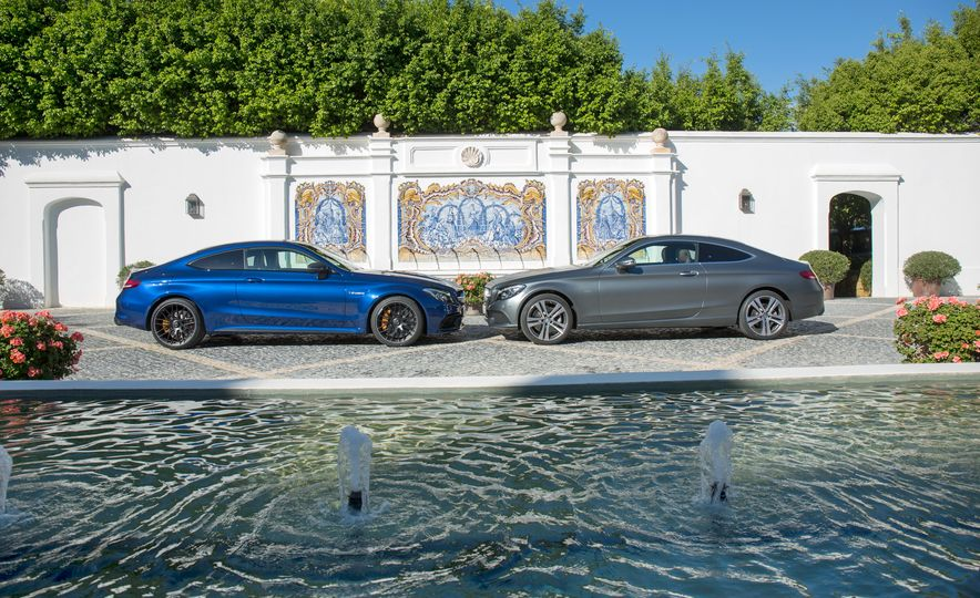 2017 Mercedes-AMG C63 coupe and Mercedes-Benz C300 - Slide 4