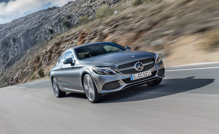 2017 Mercedes-AMG C63 coupe and Mercedes-Benz C300 - Slide 7