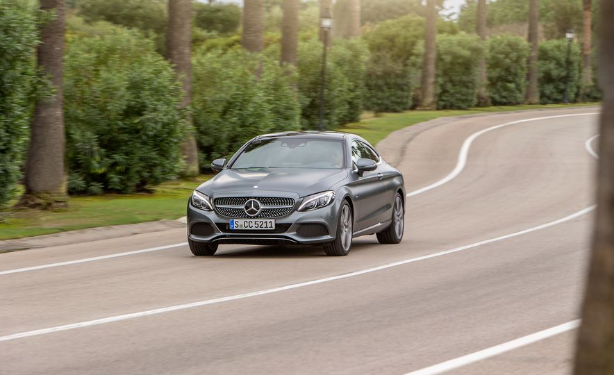 2017 Mercedes-AMG C63 coupe and Mercedes-Benz C300 - Slide 9