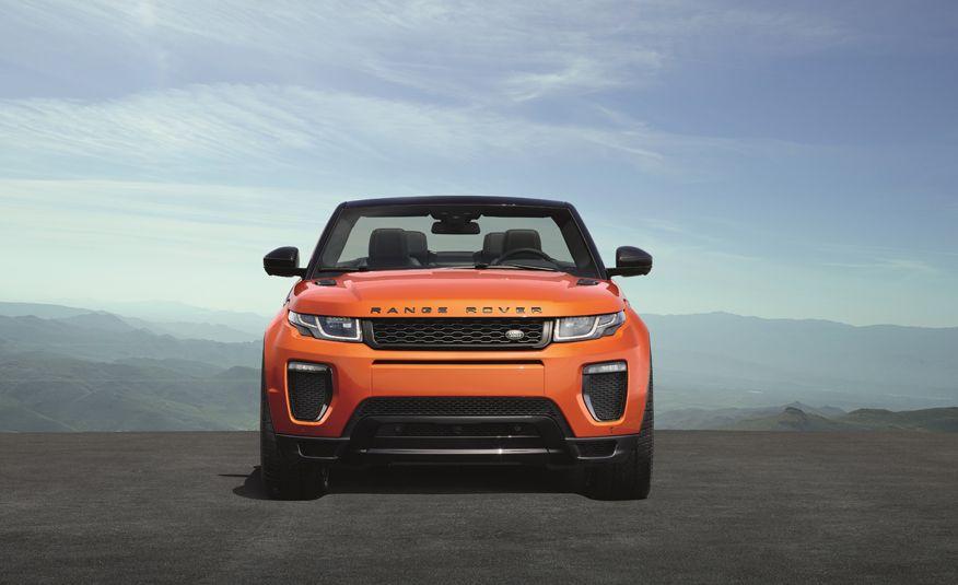 2017 Range Rover Evoque convertible - Slide 19