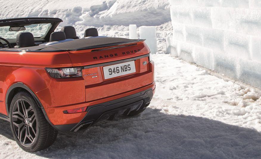 2017 Range Rover Evoque convertible - Slide 30