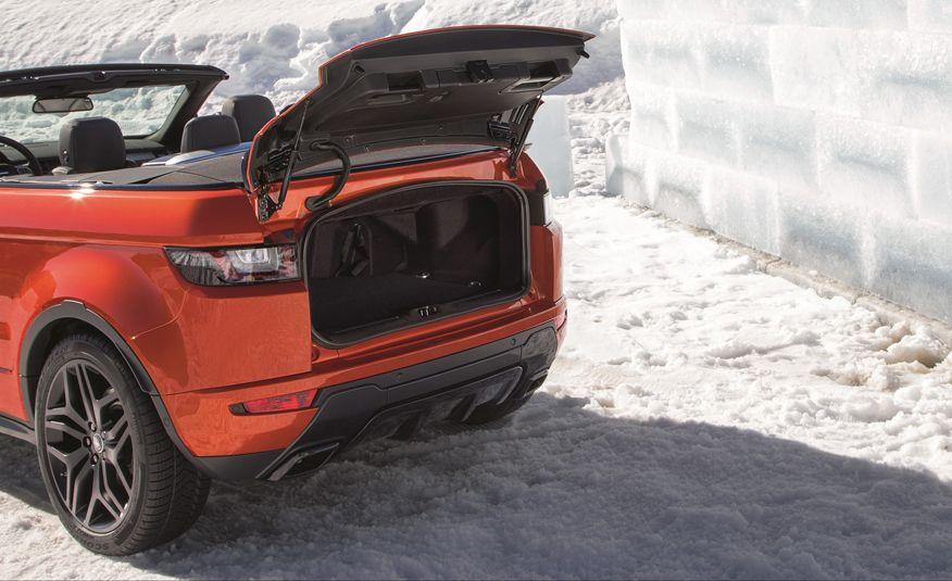 2017 Range Rover Evoque convertible - Slide 31