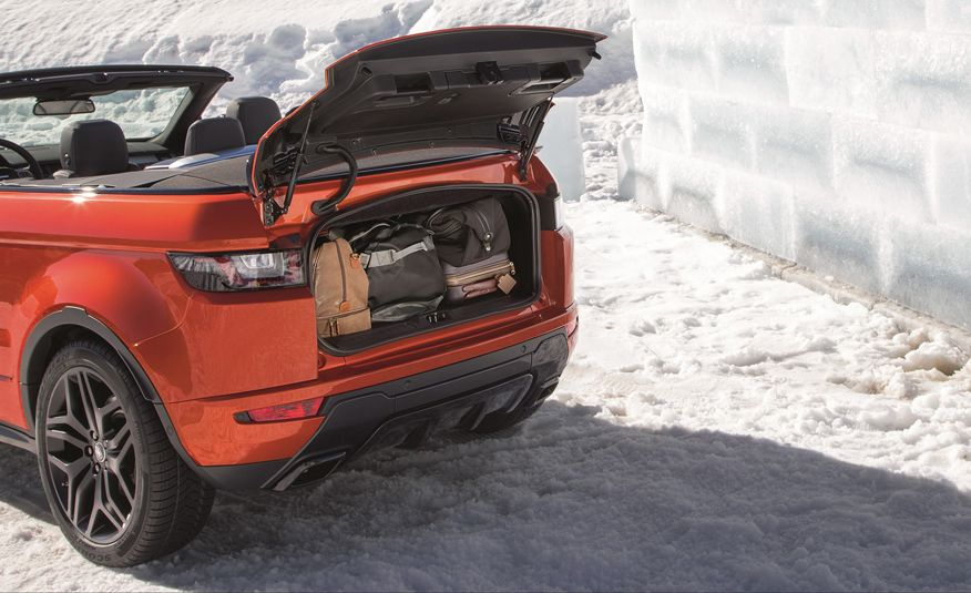 2017 Range Rover Evoque convertible - Slide 33