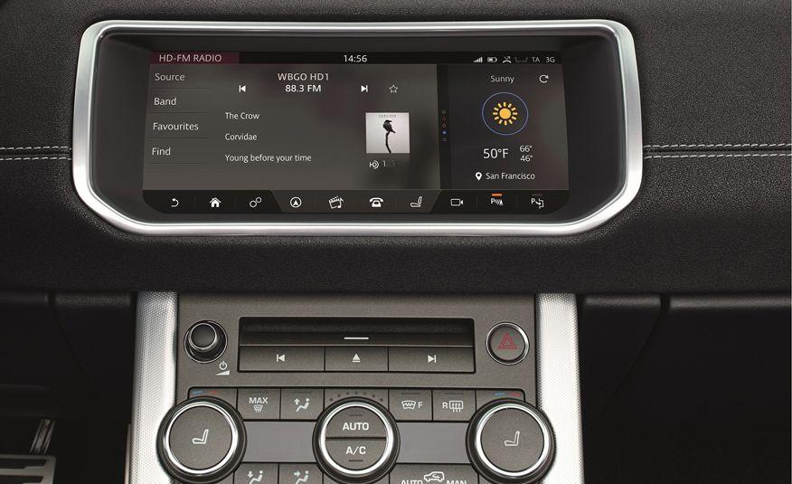 2017 Range Rover Evoque convertible - Slide 40
