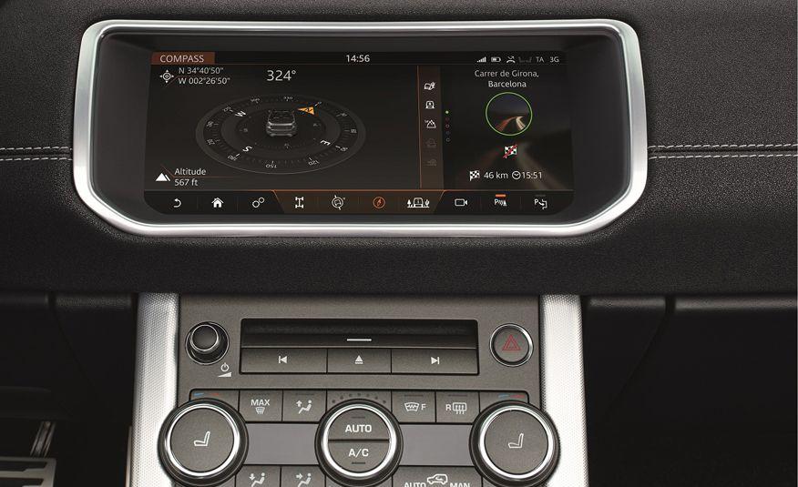 2017 Range Rover Evoque convertible - Slide 41