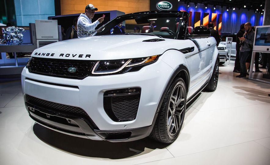 2017 Range Rover Evoque convertible - Slide 2