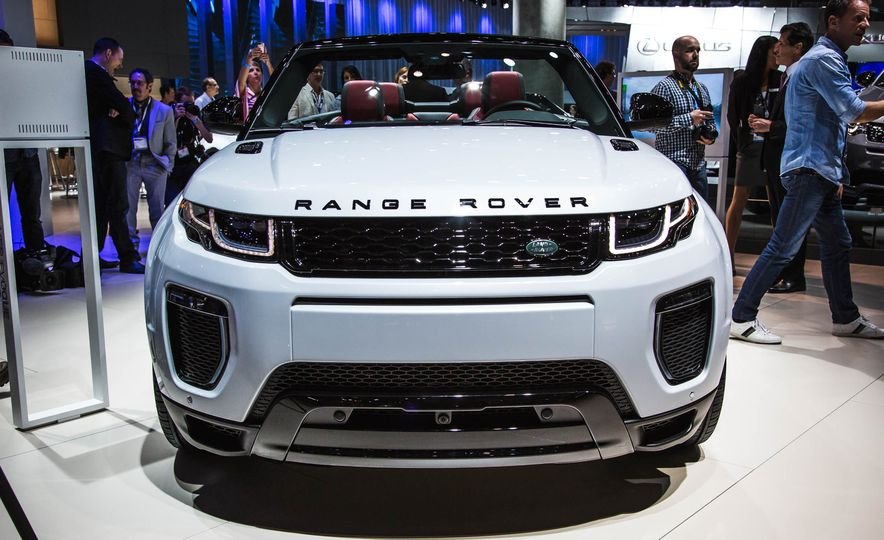 2017 Range Rover Evoque convertible - Slide 3