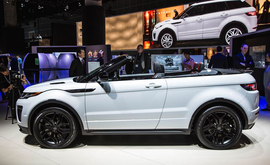 2017 Range Rover Evoque convertible - Slide 4