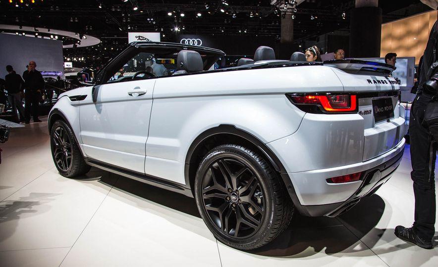2017 Range Rover Evoque convertible - Slide 5